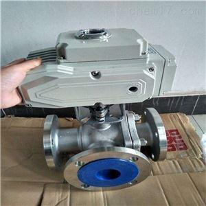 防爆电动三通T形球阀Q945F*专业生产