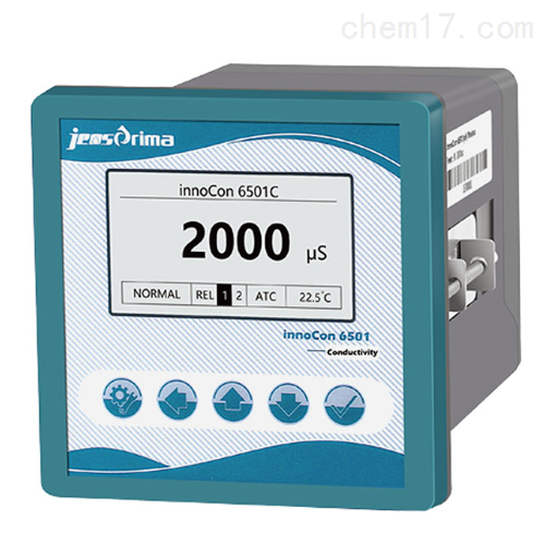 innoCon 6500C超纯水在线电导率分析仪