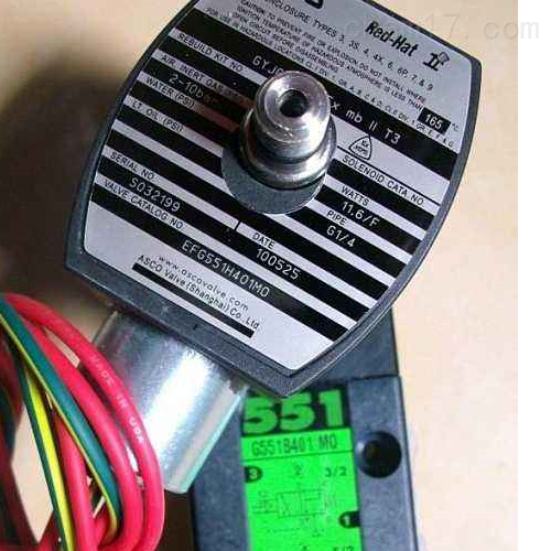 美国进口ASCO防爆电磁阀NF8551B317杭州现货供应