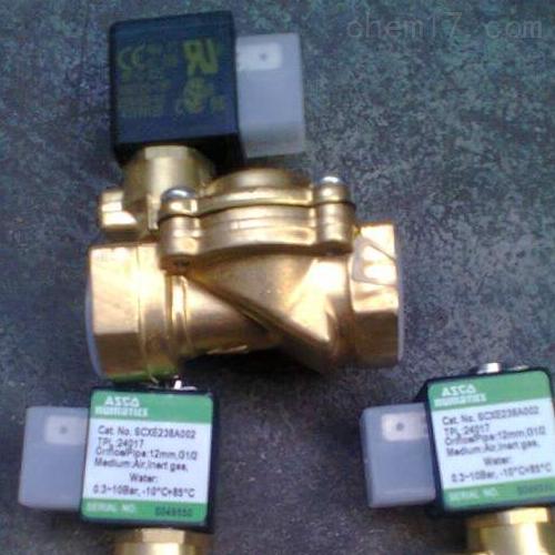 美国ASCO脉冲电磁阀SCG551A005MS上海批发价