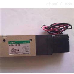 热销日本CKD内部先导式3通电磁阀