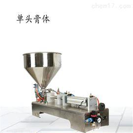 果酱膏体搅拌式自动定量灌装机