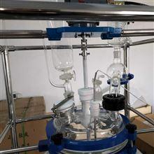供应100L双层玻璃反应釜