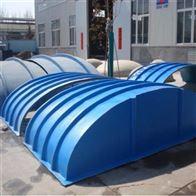 可定制贵州玻璃钢污水池圆形盖板生产厂家