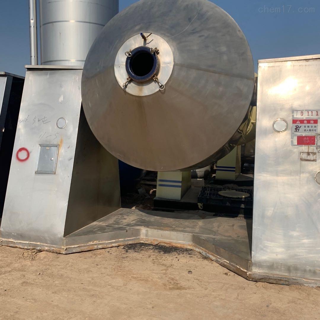 二手双锥干燥机 搪瓷 不锈钢