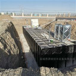 什么是抗震抗浮式地埋一体化泵站