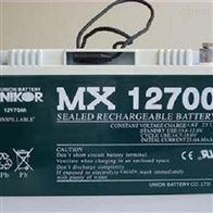 MX12650友联蓄电池MX12700全国包邮