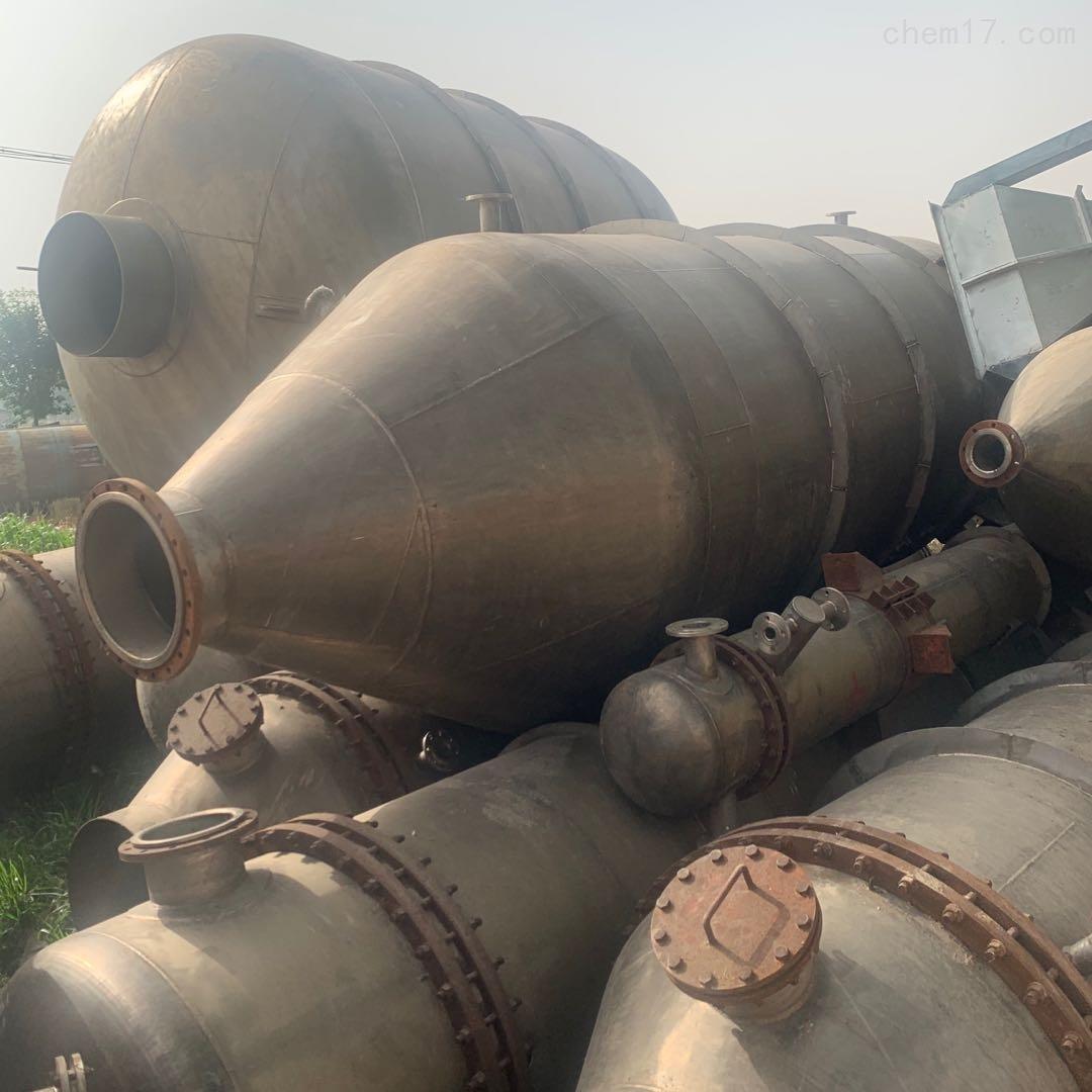 回收闲置二手多效浓缩蒸发器 不锈钢