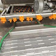工厂回购出售二手全新板带式蔬果清洗机