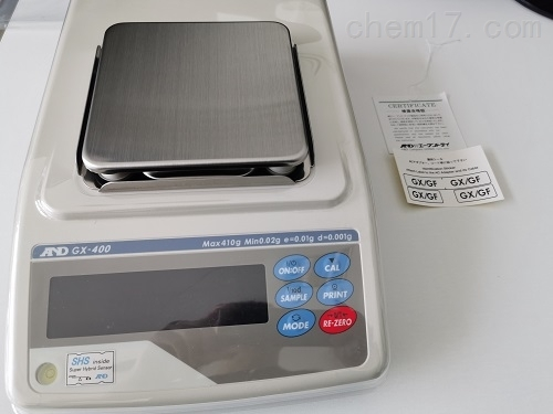 AND日本GX-600/GX-800电子分析天平
