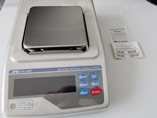 AND日本GX-600/GX-800電子分析天平