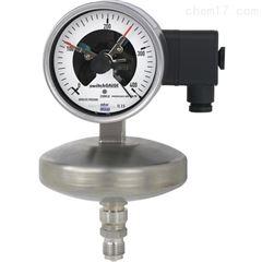 532.53+8xxWIKA 带电接点开关的绝压表