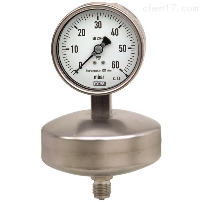 WIKA  632.51 膜盒式压力表