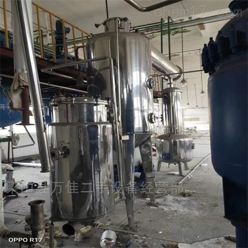厂家回购二手6吨四效降膜蒸发器一套