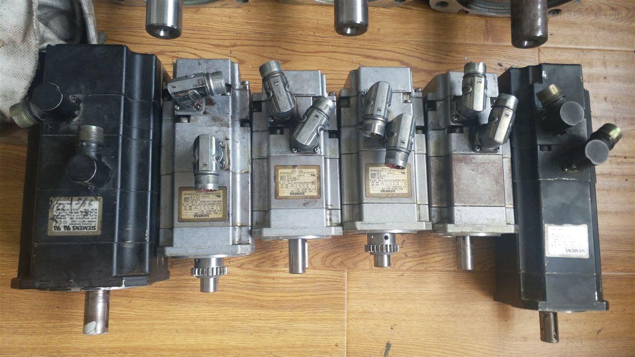 纺织厂西门子伺服电机维修更换编码器故障-当天可以修好