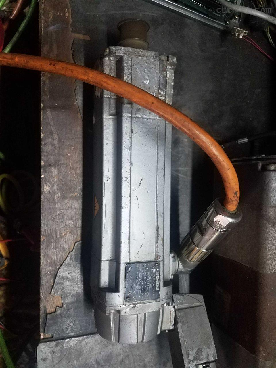 切割机西门子电机维修更换编码器故障-当天可以修好