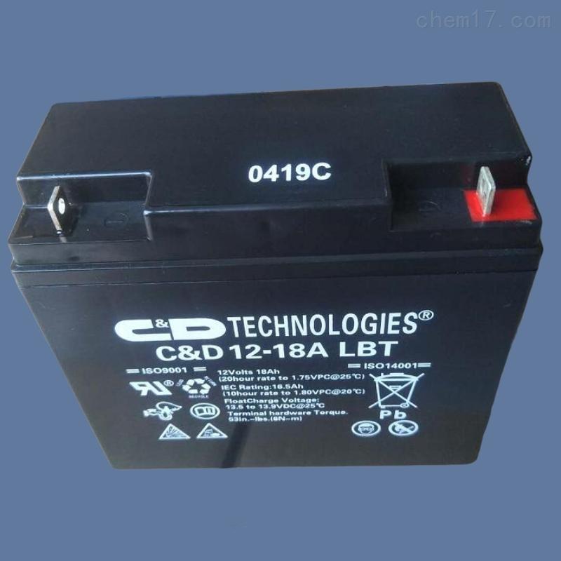 西恩迪蓄电池CD12-18ALBT 12V18AH