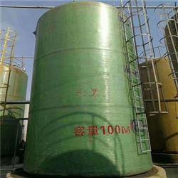 盛隆山东玻璃钢立式 卧式储罐 低价处理