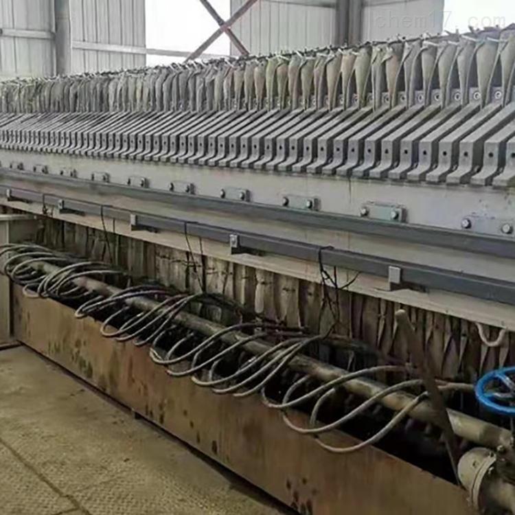 便宜出售二手隔膜压滤机质量可靠