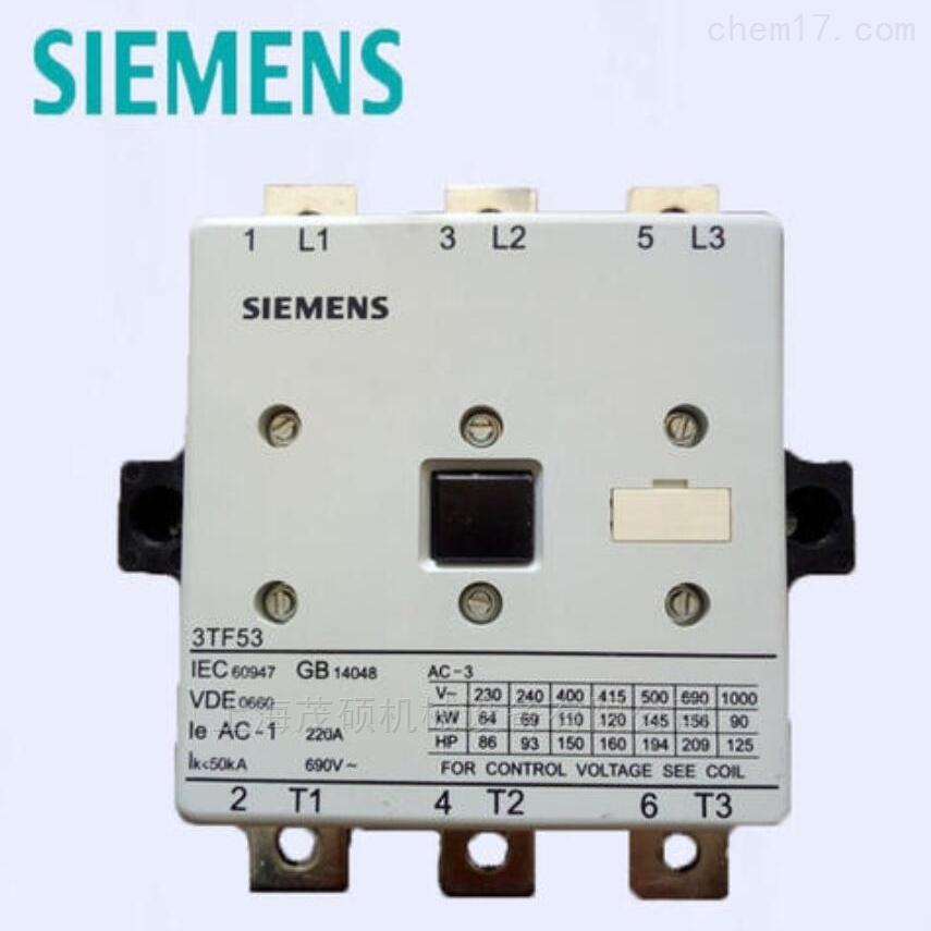 3TF51 AC110V德国Siemens接触器3TF51 AC110V 现货