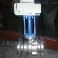 DQ941F电动低温法兰球阀