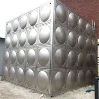 2000 1000 500立方定制甘肃不锈钢保温水箱装配式