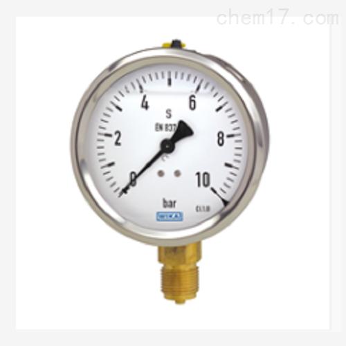 波登管压力表 不锈钢表壳 充液型213.53