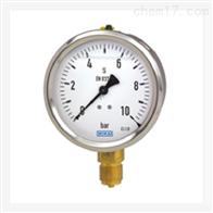 WIKA 威卡波登管压力表 不锈钢表壳 充液型213.53