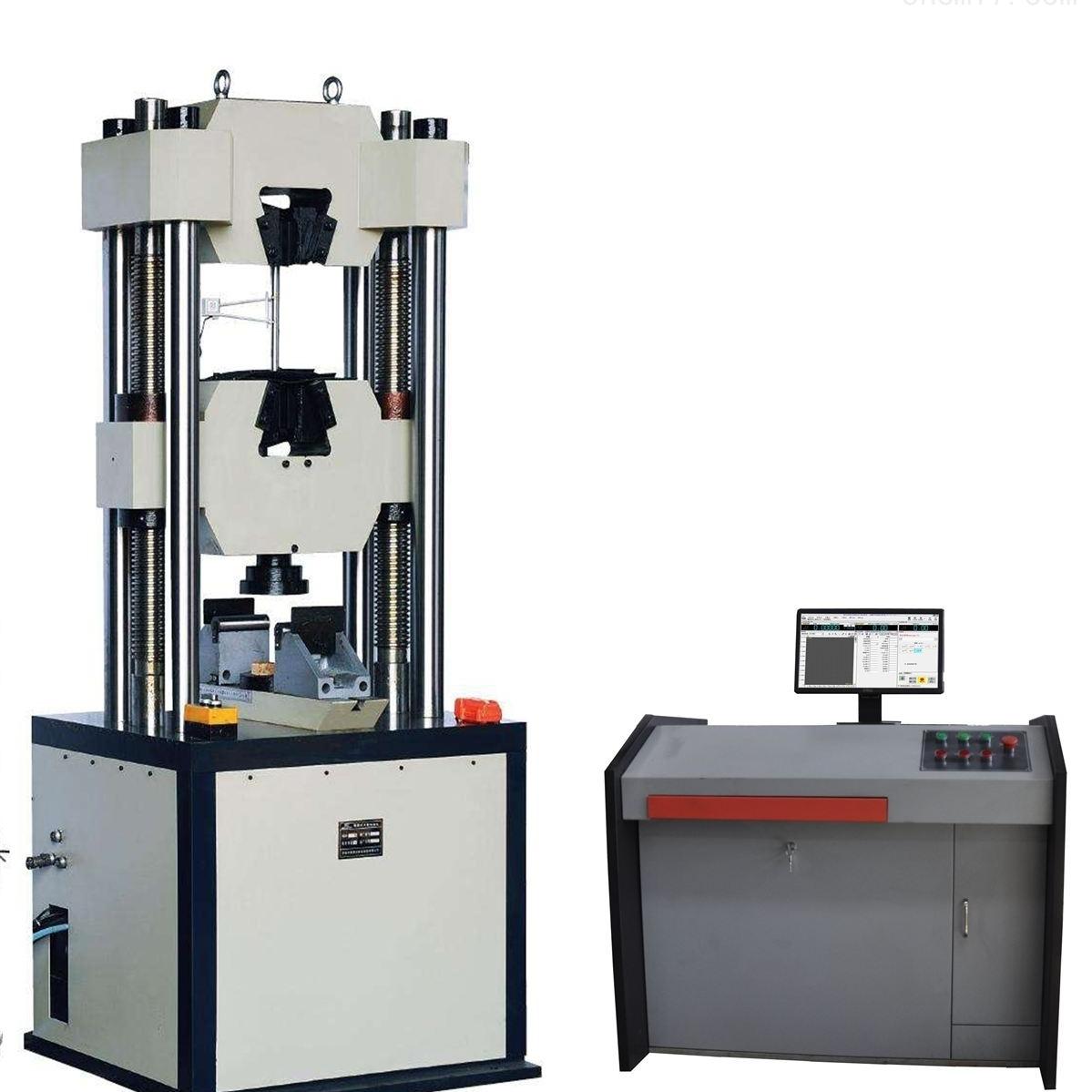 液压万能试验机微机控制电液伺服升级改造