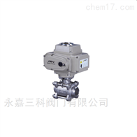Q961N,Q961F电动三片式焊接球阀