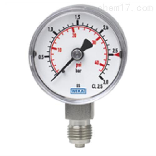 波登管压力表 不锈钢 紧凑型131.11