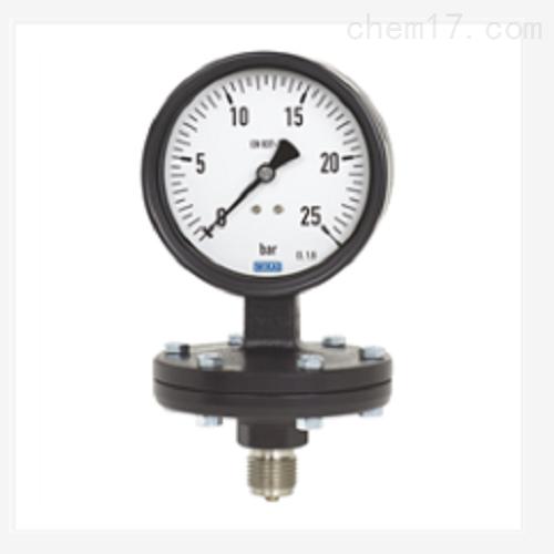 膜片式压力表 灰色铸铁表壳422.12,423.12