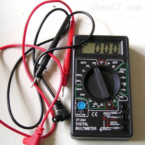 小型数字万用表 DT-832