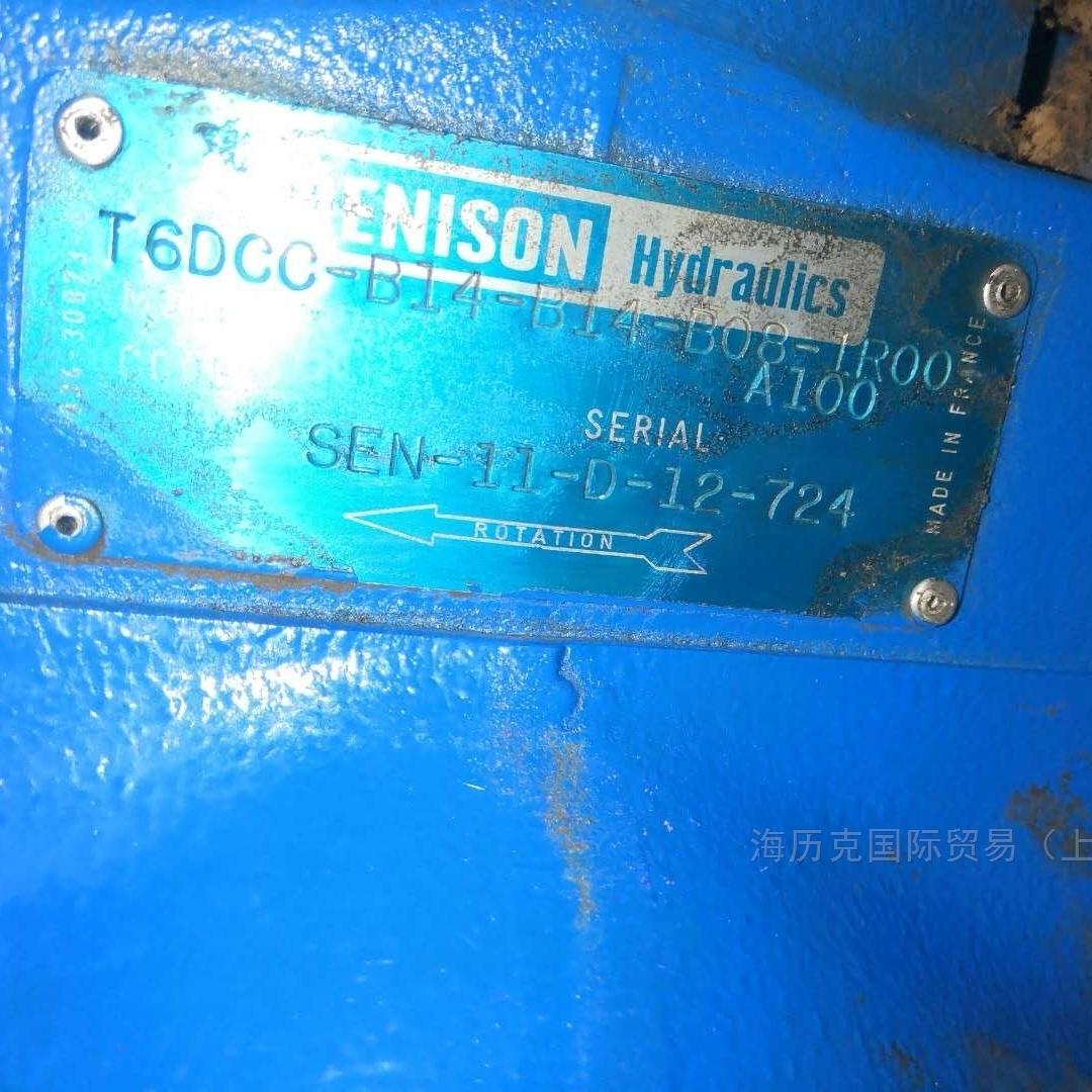 Parker派克T6DCC系列叶片泵海历克供应