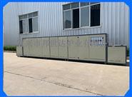 BWD系列流水线生产热敏电阻烧银网带炉热风循环