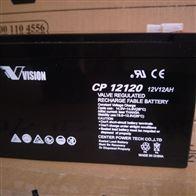 12V12AH威神蓄电池CP12120一级供应商
