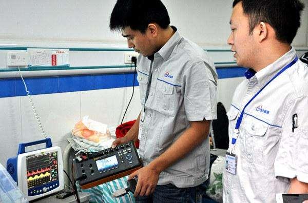 重庆计量检测辐射多个省市,为全国3大仪器生产基地