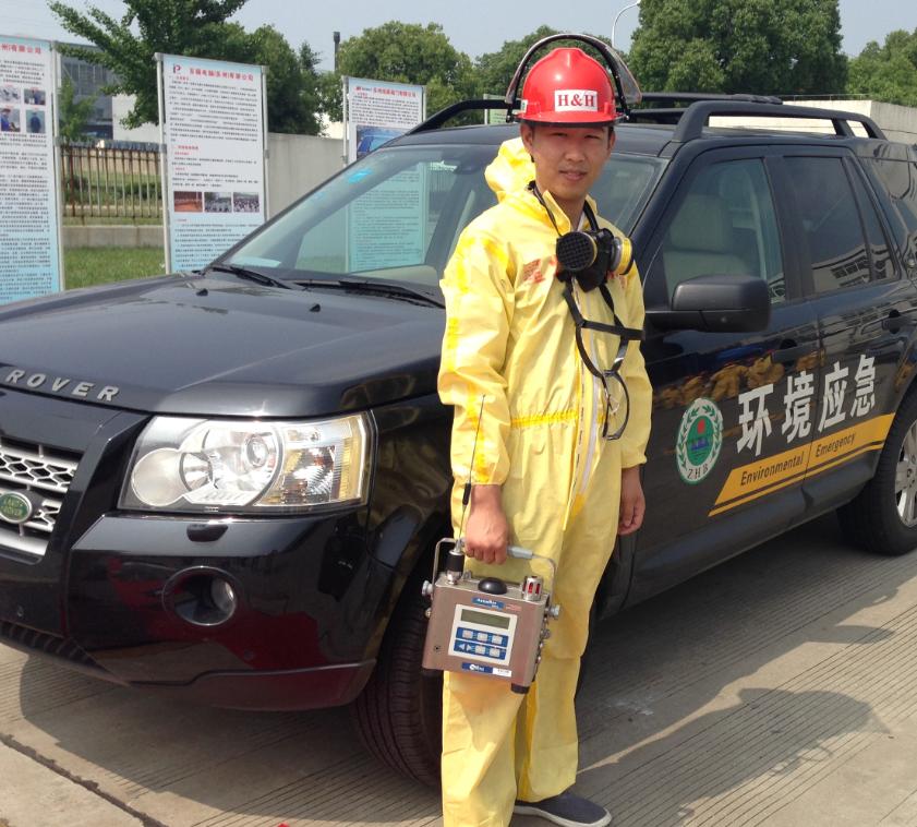 環保局應急隊伍緊急部署監測系統(氣體+放射性+水質)