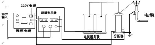 电缆试验接线图