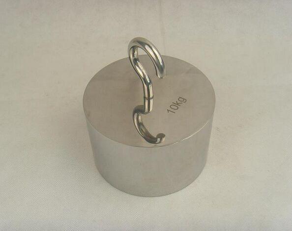 不锈钢单钩砝码