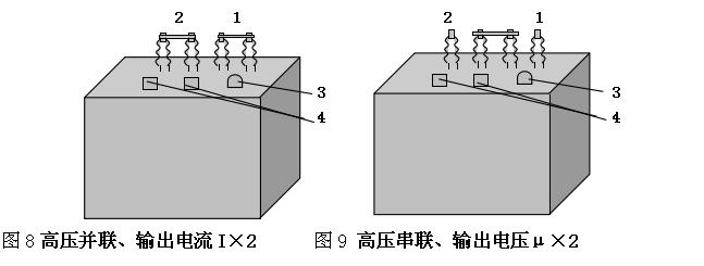 励磁变压器的接线端子