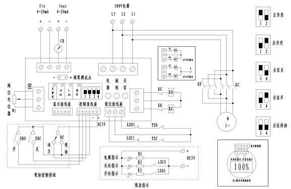 dzt20-24 机电一体化调节型电动执行机构
