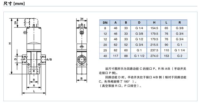 宝德0344型两位三通电磁阀上海办事处