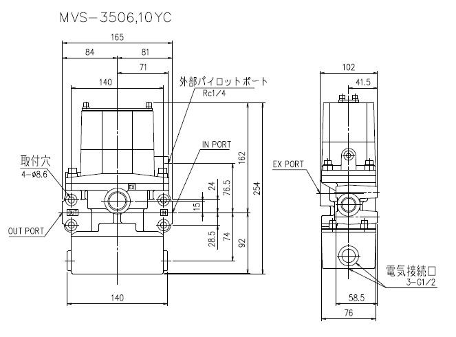 taco双联电磁阀结构原理及型号