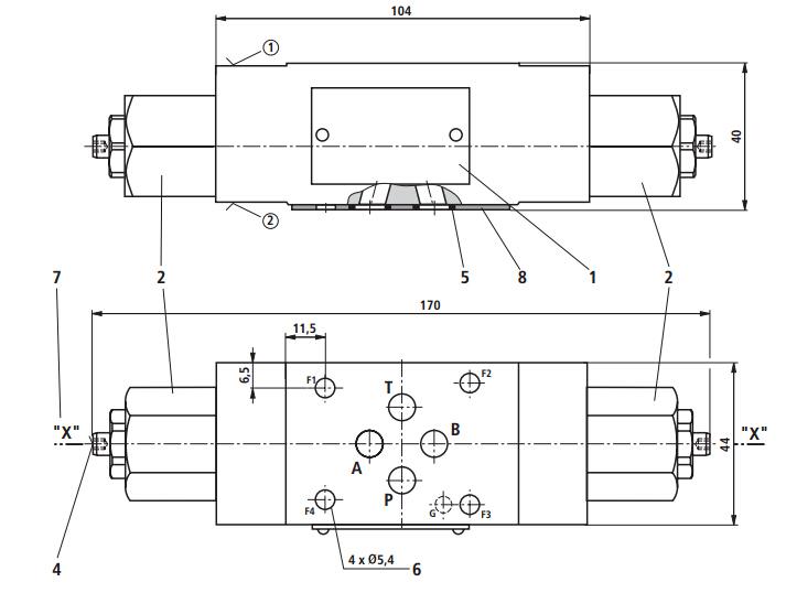 力士乐REXROTH电磁阀工作原理:力士乐REXROTH电磁阀里有密闭的腔,在的不同位置开有通孔,每个孔都通向不同的油管,腔中间是阀,两面是两块电磁铁,哪面的磁铁线圈通电阀体就会被吸引到哪边,通过控制阀体的移动来档住或露出不同的排油的孔,而进油孔是常开的,液压油就会进入不同的排油管,然后通过油的压力来推动油缸的活塞,活塞又带动活塞杆,活塞杆带动机械装置运动。这样通过控制电磁铁的电流就控制了机械运动。