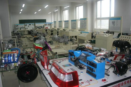 桑塔纳3000全车仿真电路实验台|汽车仿真电路实习台