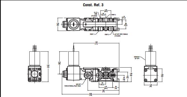 asco电磁阀/asco电磁阀二位三通阀工作原理图片