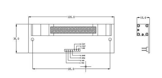 > g-module --红外sf6气体传感器   二,模块特点 ①    模块检测原理