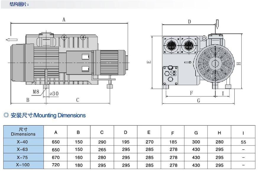 x-63-上海久信x-63型单级旋片式真空泵
