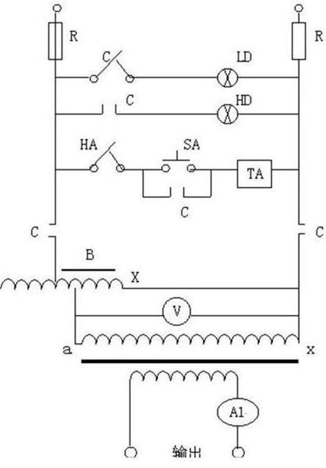 交流大电流发生器/温升试验装置